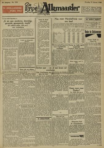 De Vrije Alkmaarder 1948-01-13