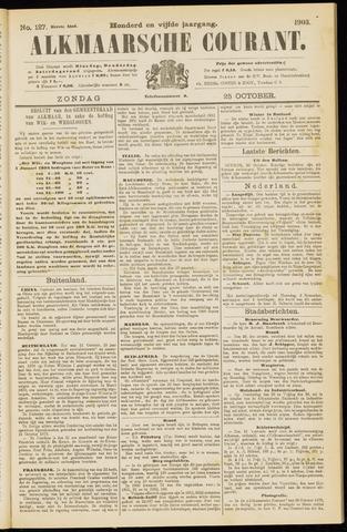 Alkmaarsche Courant 1903-10-25