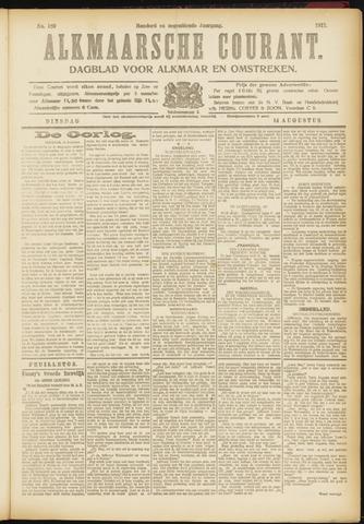 Alkmaarsche Courant 1917-08-14