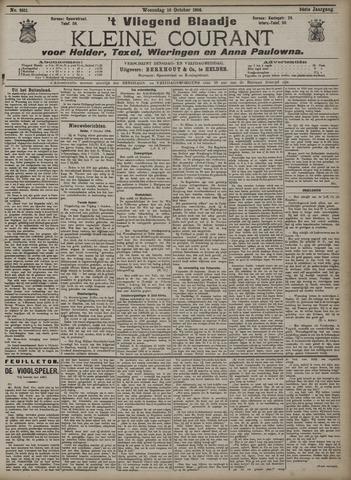 Vliegend blaadje : nieuws- en advertentiebode voor Den Helder 1906-10-10
