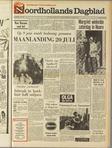 Noordhollands Dagblad : dagblad voor Alkmaar en omgeving 1969-05-27