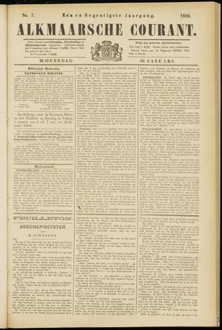 Alkmaarsche Courant 1889-01-16
