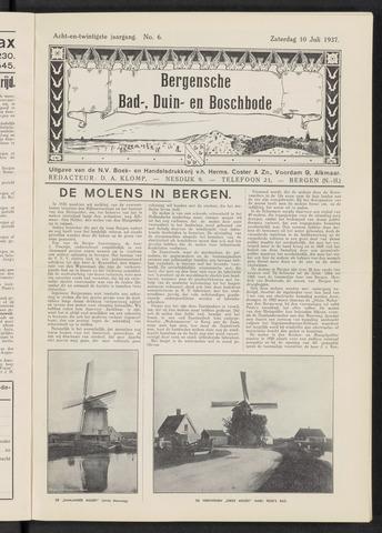 Bergensche bad-, duin- en boschbode 1937-07-10