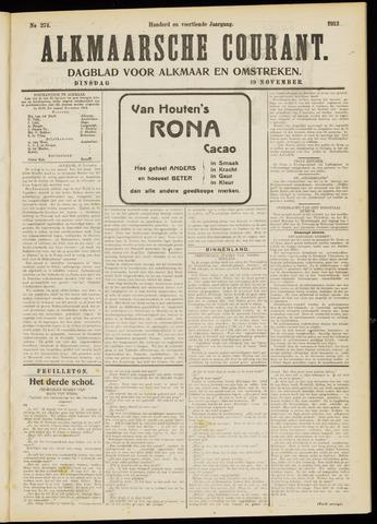 Alkmaarsche Courant 1912-11-19