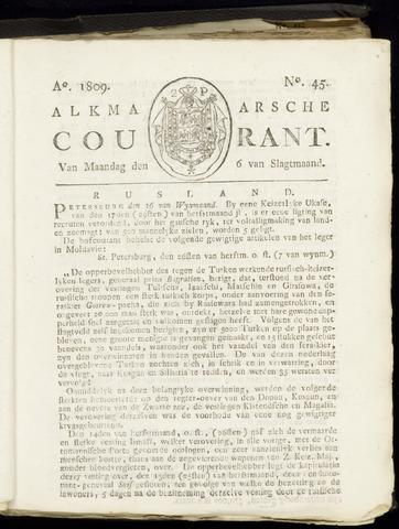Alkmaarsche Courant 1809-11-06