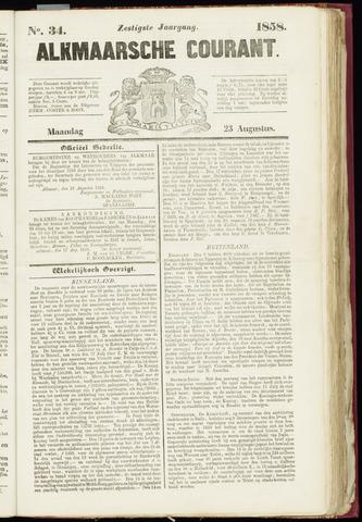 Alkmaarsche Courant 1858-08-23