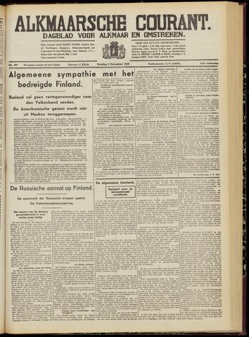 Alkmaarsche Courant 1939-12-05