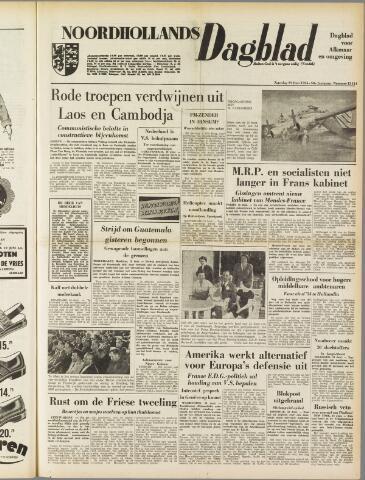 Noordhollands Dagblad : dagblad voor Alkmaar en omgeving 1954-06-19