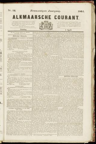 Alkmaarsche Courant 1864-04-03
