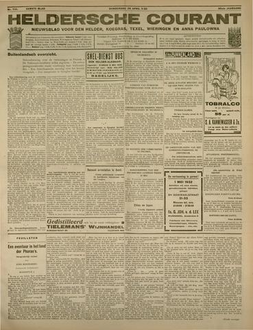 Heldersche Courant 1932-04-28