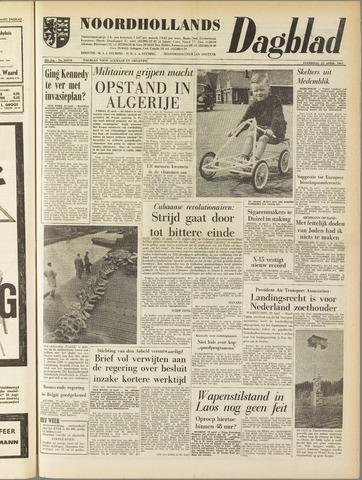 Noordhollands Dagblad : dagblad voor Alkmaar en omgeving 1961-04-22