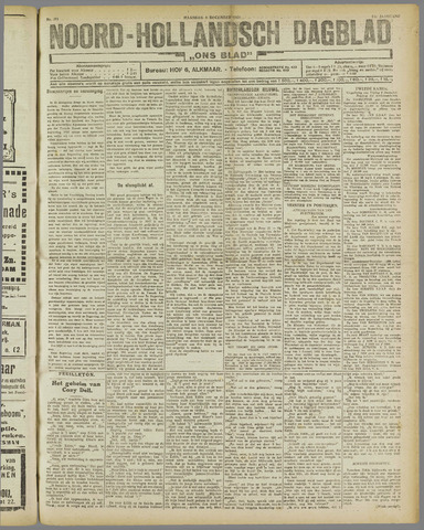 Ons Blad : katholiek nieuwsblad voor N-H 1921-12-05