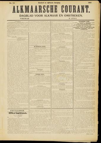 Alkmaarsche Courant 1913-07-11