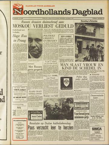 Noordhollands Dagblad : dagblad voor Alkmaar en omgeving 1968-09-07