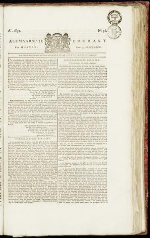 Alkmaarsche Courant 1832-09-03