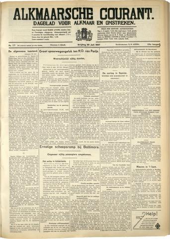 Alkmaarsche Courant 1937-07-30
