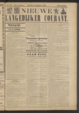 Nieuwe Langedijker Courant 1922-08-29