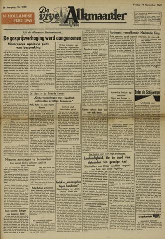 De Vrije Alkmaarder 1947-11-14