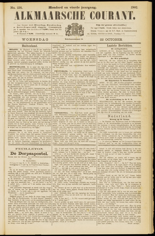 Alkmaarsche Courant 1902-10-22