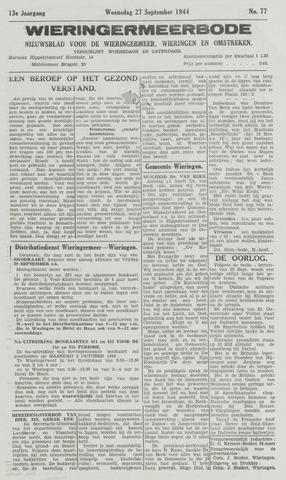 Wieringermeerbode 1944-09-27