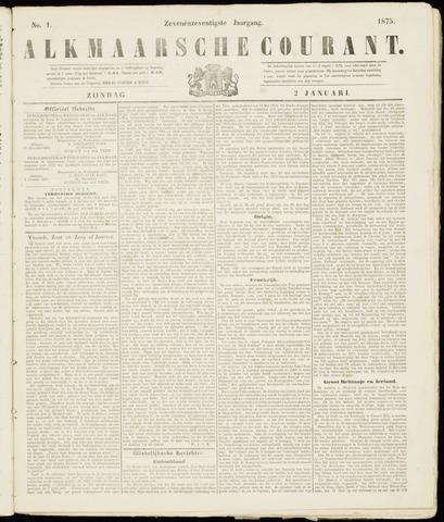 Alkmaarsche Courant 1875-01-02