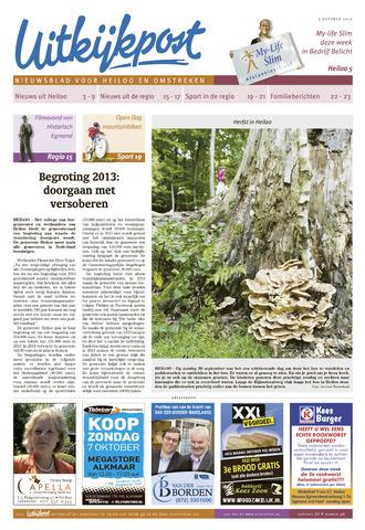 Uitkijkpost : nieuwsblad voor Heiloo e.o. 2012-10-03