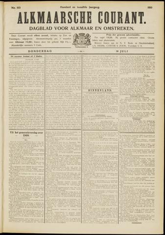 Alkmaarsche Courant 1910-07-14
