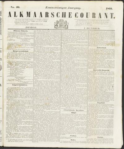 Alkmaarsche Courant 1869-10-03
