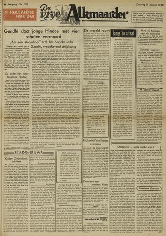 De Vrije Alkmaarder 1948-01-31