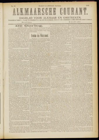 Alkmaarsche Courant 1916-01-31