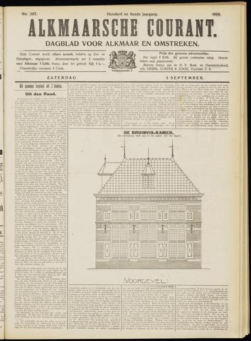 Alkmaarsche Courant 1908-09-05
