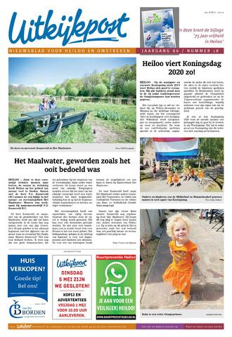 Uitkijkpost : nieuwsblad voor Heiloo e.o. 2020-04-29