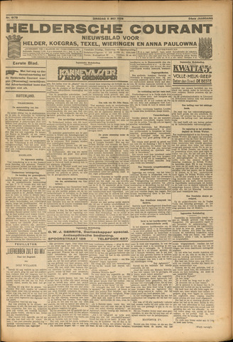 Heldersche Courant 1926-05-11