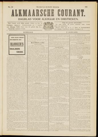 Alkmaarsche Courant 1911-01-31