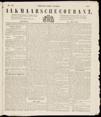 Alkmaarsche Courant 1877-03-25