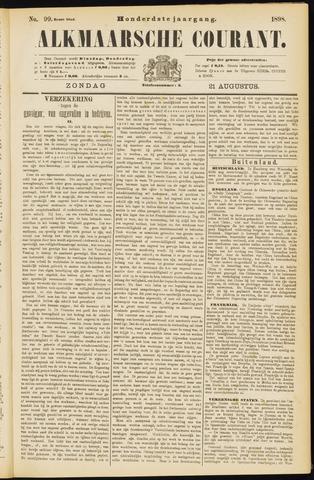 Alkmaarsche Courant 1898-08-21