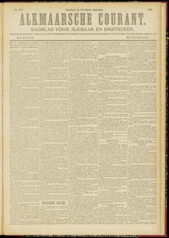 Alkmaarsche Courant 1918-12-30