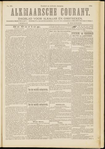 Alkmaarsche Courant 1914-12-18