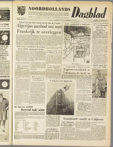 Noordhollands Dagblad : dagblad voor Alkmaar en omgeving 1959-11-21