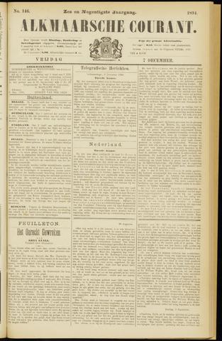 Alkmaarsche Courant 1894-12-07