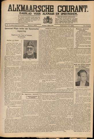 Alkmaarsche Courant 1939-03-07
