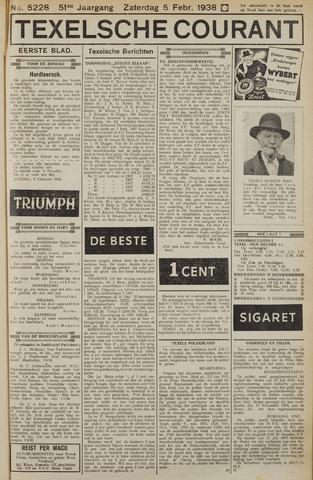 Texelsche Courant 1938-02-05