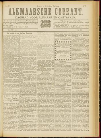 Alkmaarsche Courant 1918-05-14