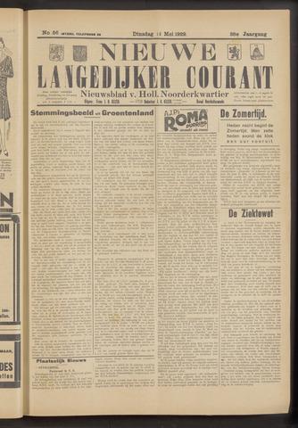Nieuwe Langedijker Courant 1929-05-14