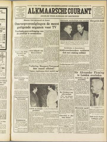Alkmaarsche Courant 1955-03-12