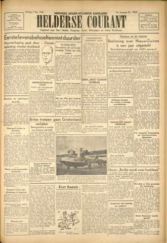 Heldersche Courant 1949-11-01