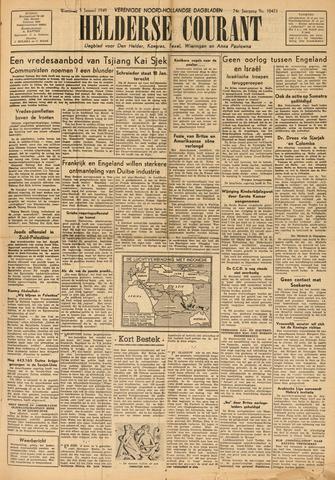 Heldersche Courant 1949-01-05