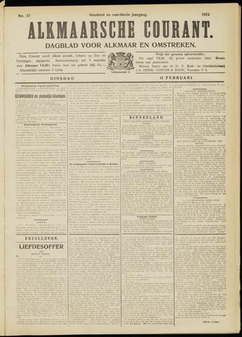 Alkmaarsche Courant 1912-02-13