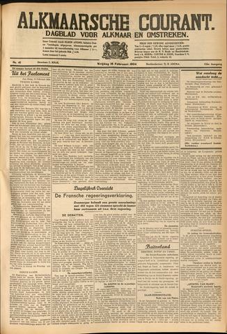 Alkmaarsche Courant 1934-02-16