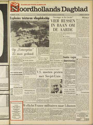 Noordhollands Dagblad : dagblad voor Alkmaar en omgeving 1969-01-15